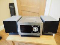 PANASONIC CD/RADIO SYSTEM
