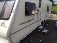 2004 4/5 BERTH BAILEY SENATOR FIXED BED EXCELLENT CONDITION FULL AWNING