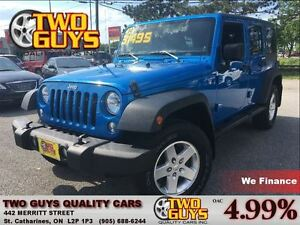 2014 Jeep Wrangler UNLIMITED SPORT 4X4 CONVENIENCE GROUP