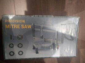 Brand new precision mitre saw