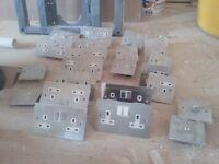 Wall sockets (plate)