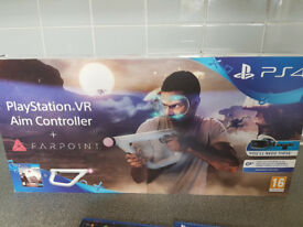 PlayStation VR aim controller + others games. pieces listed