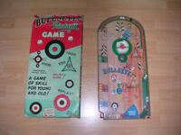 Louis Marx 1960's Bullseye Pinball Game