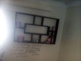 Large wall shelf
