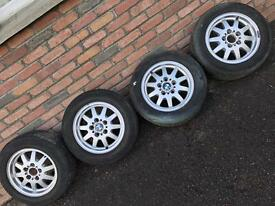 "15"" BMW alloys 5x120"