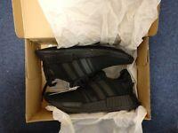 Adidas NMD R1 Triple Black Trainers (UK 10)