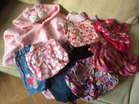 Bundle of girl's clothes age 2-3 years