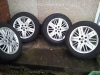 rover 75 union alloys wheels