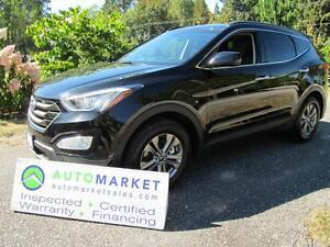 2016 Hyundai Santa Fe Premium, Sport, AWD, Warranty