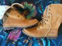 Timberland Boots - Size 4