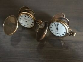 Two antique Pocket Watches. Can sell together or separate.