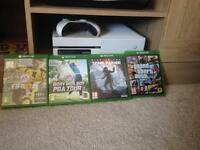 Xbox one immaculate condition 4 games
