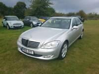 Mercedes S320 cdi L auto 2006 diesel top spec history mot cheap car Kent bargain