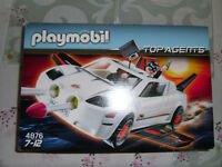 Playmobil Top Agents White Car