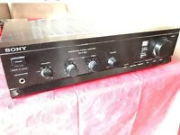 Sony Integrated Stereo Amplifier TA-F100