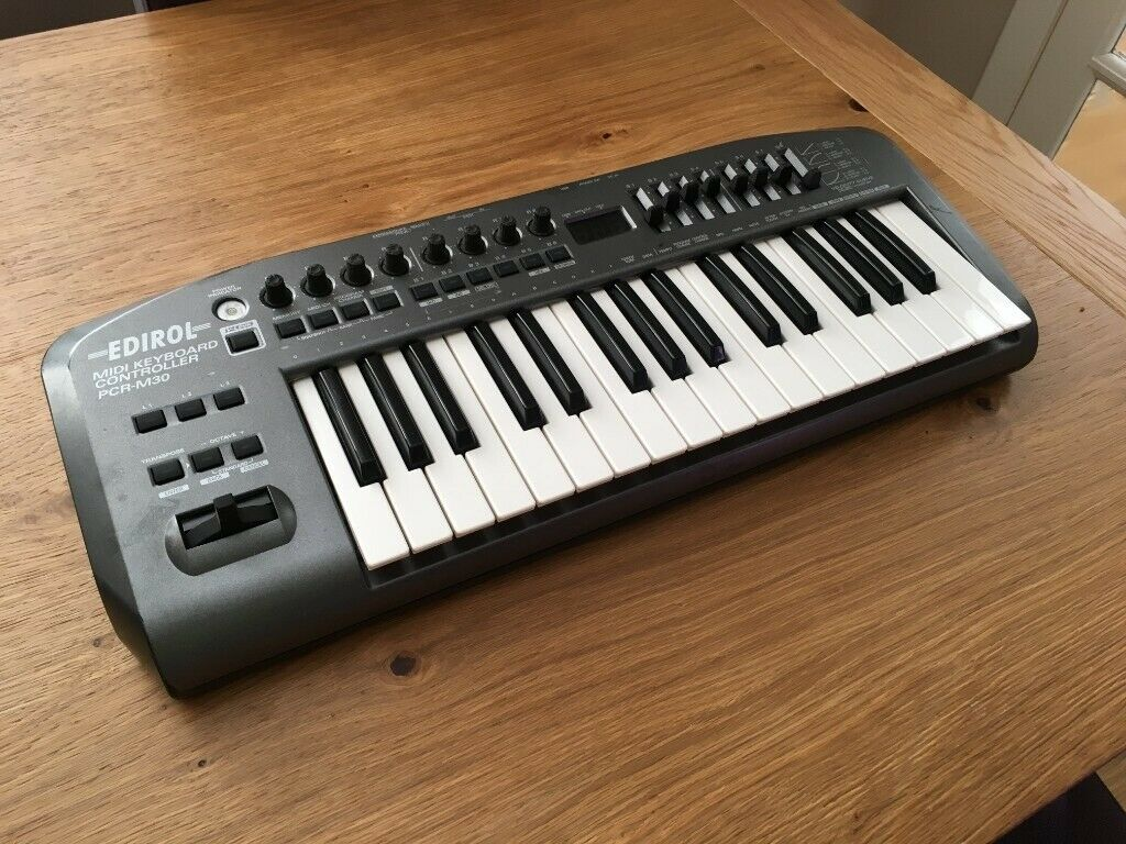 Roland Edirol PCR-M30 USB/MIDI controller | in Trinity, Edinburgh | Gumtree