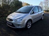 Ford C-Max 1.816v Zetec, Low Mileage and Full Service History