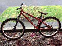 Custom Dirt Jump/Park Bike