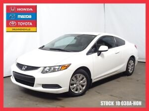 2012 Honda Civic LX +BLUETOOTH+A/C+REG.VITESSE