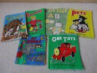 Children's Six Cloth Book Bundle