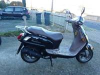 Sym fiddle 50cc 1 year mot