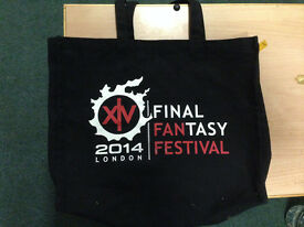 final fantasy xv collectors bag xbox playstation ps4 pc gaming retro