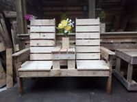 Garden furniture made by macgardening