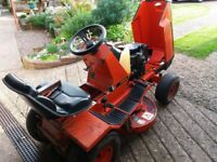 "Westwood ride on mower T1200. 36""; cut twin blade in good order .for sale due to house move"