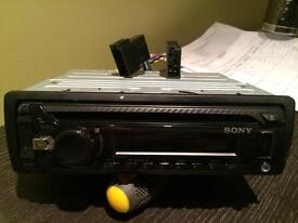 Sony stereo cdplayer, usb and aux in full working conditions