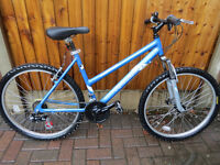 LADIES MOUNTAIN BIKE, RALEIGH MUSTANG, GREAT CONDITION