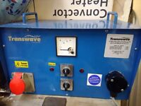 Transwave phase converter 3 hp 2.2 kw