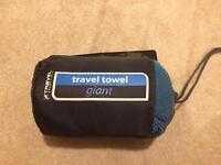 Large travel towel (new & unused)