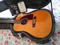 Epiphone 12 String Roy Orbison Acoustic Guitar Twelve String. Gibson Martin Taylor Guild Fender Bard