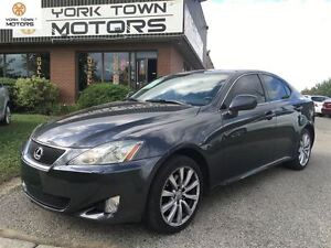 2006 Lexus IS 250 PREM PKG | LEATHER | HEATEd SEAT | REAR SHADE