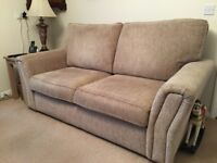 2 Seater Sofa Bed Settee Couch by Paul Adams. Immaculate and Top Quality