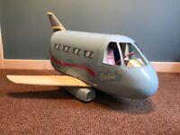 Vintage Barbie jumbo jet