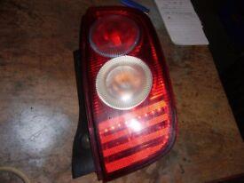 offside rear light for nissan micra k12 .