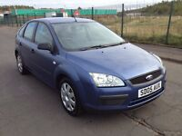 2005 Ford Focus 1.4 , mot - May 2017 , only 82,000 miles , 2 owners , astra,megane,golf,