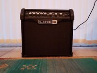 Line 6 Spider IV 15 watt guitar amplifier with 4 classic guitar amp models