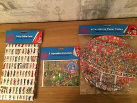 Where's wally party supplies