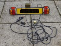 Trailer Lighting Board and cables