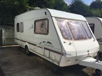 swift celeste 4 berth caravan- complete with 2 awnings! lovely family caravan!