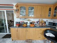 Used Kitchen, Complete with Cabinets and Appliances