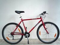 "(630) 26"" 19.5"" LIGHTWEIGHT Cro-Moly TREK ADULT MOUNTAIN BIKE BICYCLE;Height:180-188cm(5'11""-6'2"")"