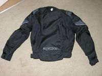 Motor Cycle Jacket Small Richa With Armour Weymouth