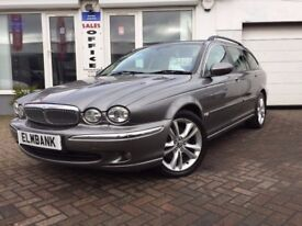 2007 07 Jaguar X-TYPE 2.2D SE~LOW MILES~OCTOBER 18 MOT~