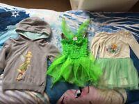 Tinker bell clothes & Dress up