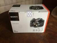 Sony Cyber-shot 20.1MP Digital Black Camera DSC-H300 New