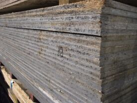 Second Hand OSB *Smart Ply* Sheets For Sale, 18mm Thick! Full 8ft x 4ft Boards! £10.00 Each