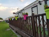 Mablethorpe carnaby claret 6 berth starter static caravan 2018 site fees paid.